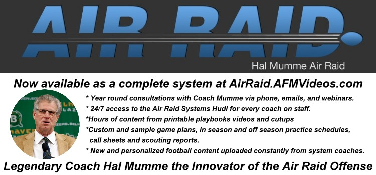 Legendary Football Coach Hal Mumme and the Air Raid Offense