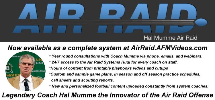 Legendary Football Coach Hal Mumme and the Air Raid Offense