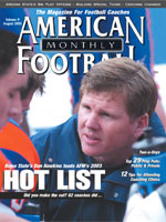 American Football Monthly August 2003 Issue Online